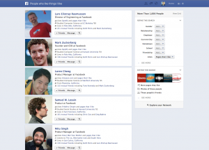 Graph Search Result (Quelle: Facebook.com)