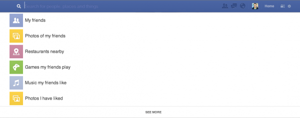 Social Graph Search (Quelle: Facebook.com)