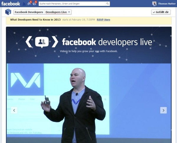 Videokanal Developer Live