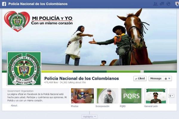 Policía Nacional de los Colombianos