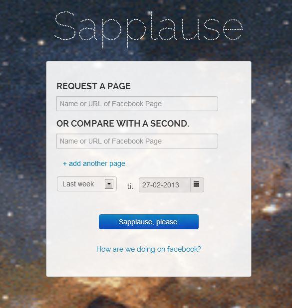 Startseite sapplause.com