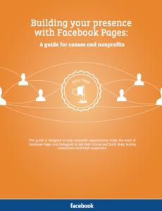 Facebook Pages Guide für Non Profit Organisationen