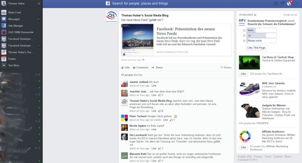 Ads auf Detailseiten von einzelnen Beiträgen in der rechten Spalte