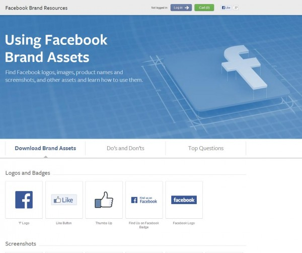 facebookbrand.com - Informationen zur Facebook Marke