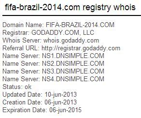 Whois-Abfrage fifa-brazil-2014.com