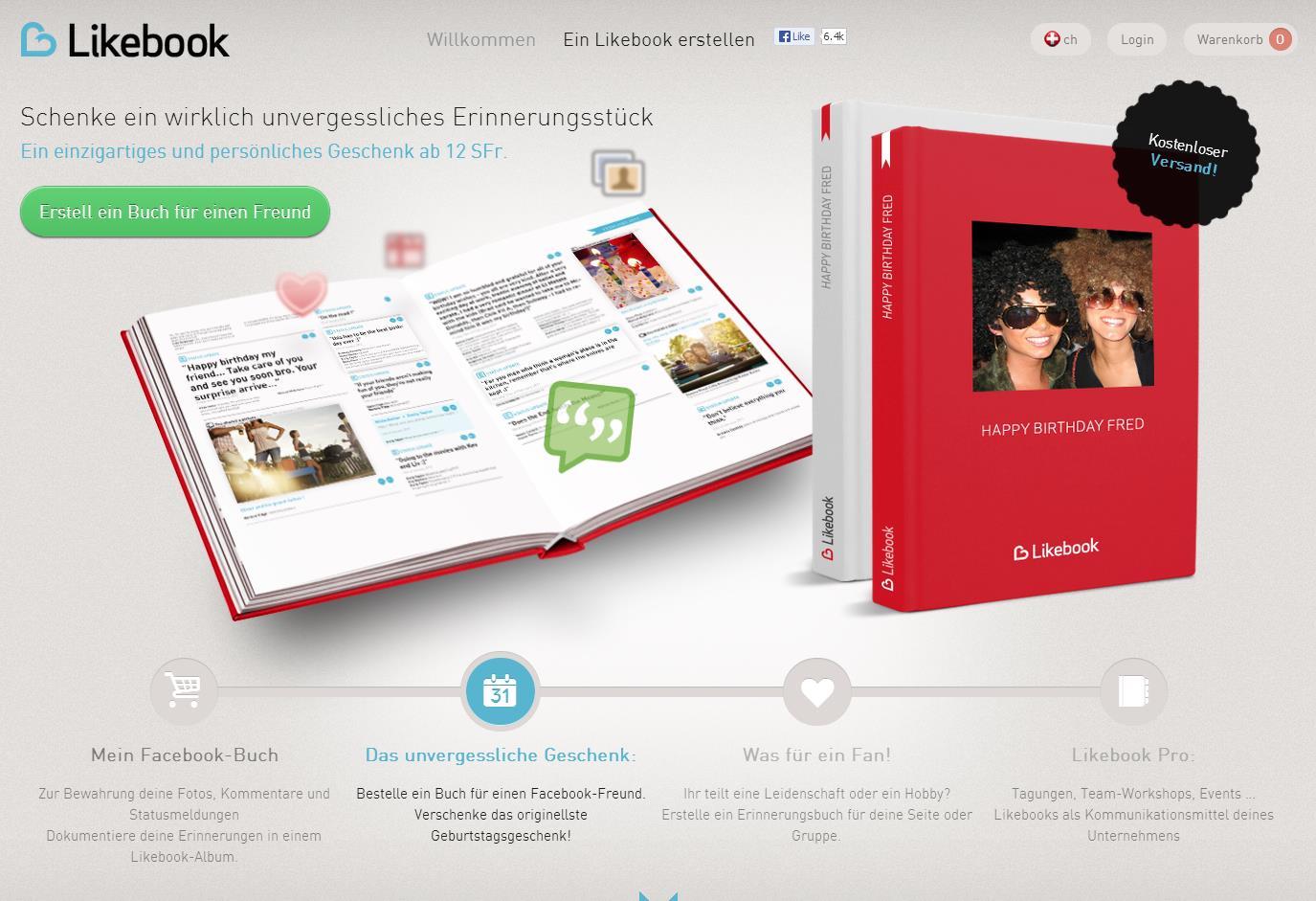 Likebook - mein Leben in einem Buch