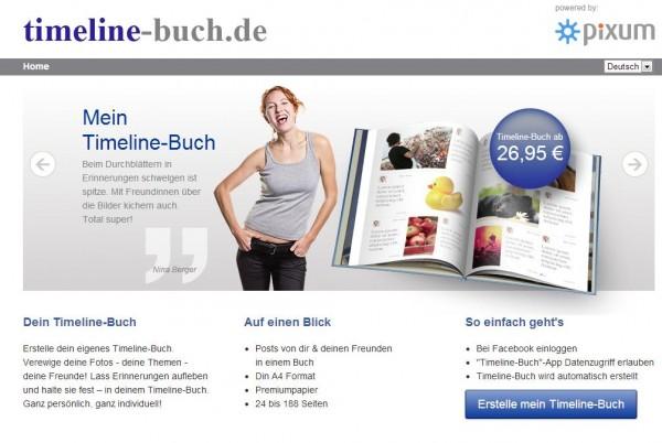 timeline-buch.de von pixum