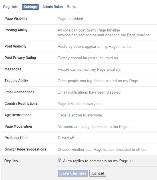 Opt-In-Funktion für Kommentare auf Kommentare in den Seiteneinstellungen