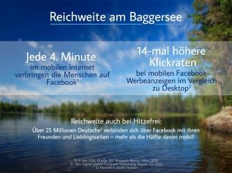 Reichweite am Baggersee