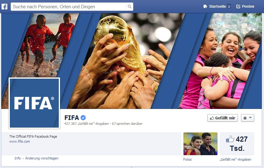 FIFA - The Official FIFA Facebook Page