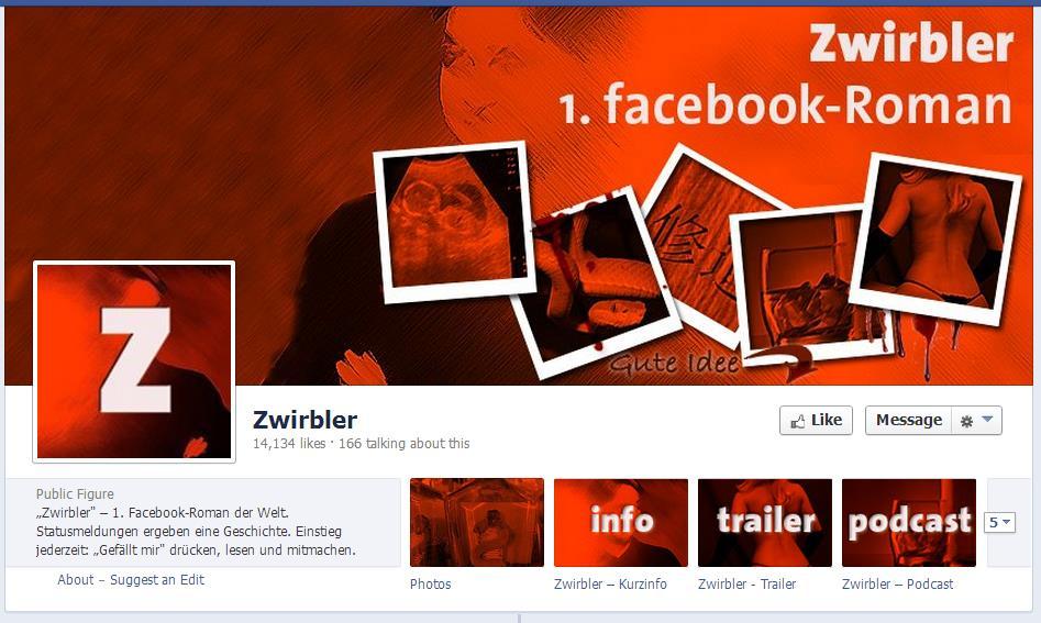 Zwirbler - der erste Facebook Roman