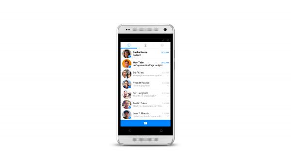 Ansicht der letzten Unterhaltungen auf dem Android Facebook Messenger (Quelle: Facebook)