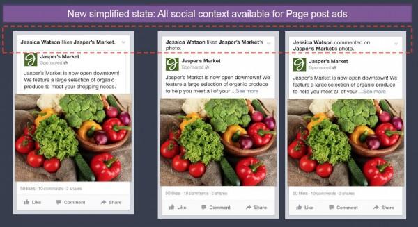 """""""Neuer"""" sozialer Kontext in Page Post Ads"""