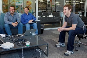 Marc Zuckerberg (rechts im Bild)  (Quelle: Facebook)