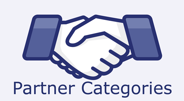 Partner Categories - Original Copyright by shutterstock.com