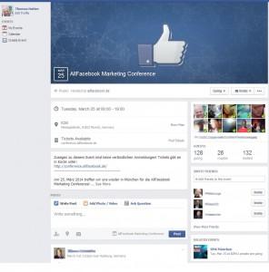 Facebook Veranstaltungen / Events mit neuem Look