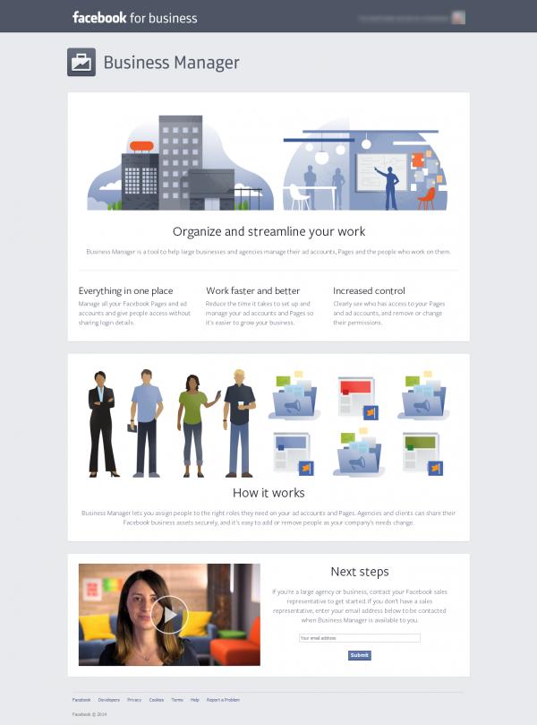 Business Manager Website