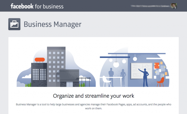 Business Manager  (Quelle: Facebook)