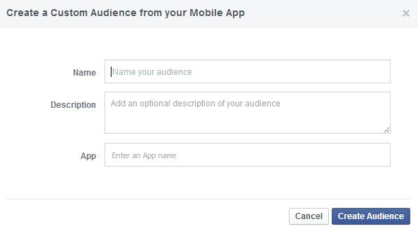 Custom Audience from your Mobile App