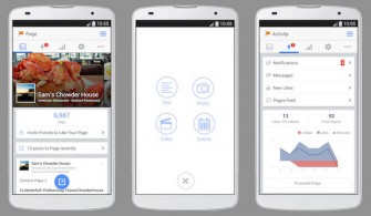 Facebook Page Manager App für Android (Quelle: Facebook)