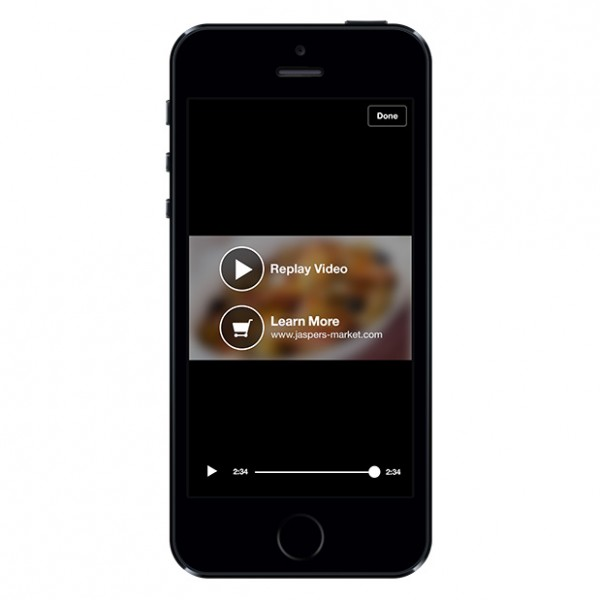 Video Ads auf dem Mobile (Quelle: Facebook)