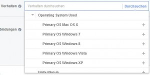 Targeting nach Betriebssystem