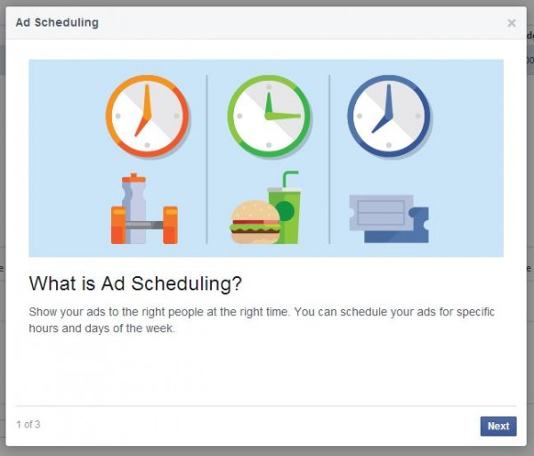Zeitplanung für Facebook Werbeanzeigen