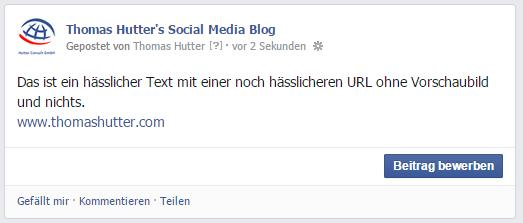 Beispiel einer URL im Text