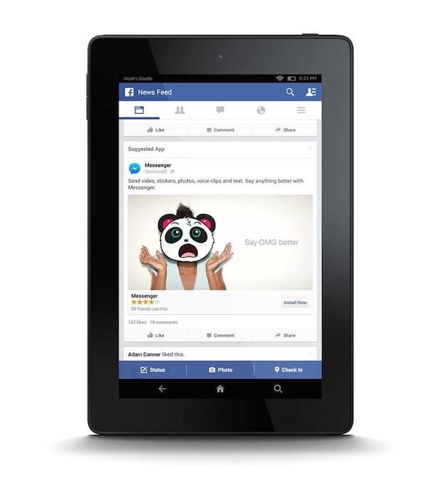 Amazon Fire Tablet als Targetingoption (Quelle: Facebook)