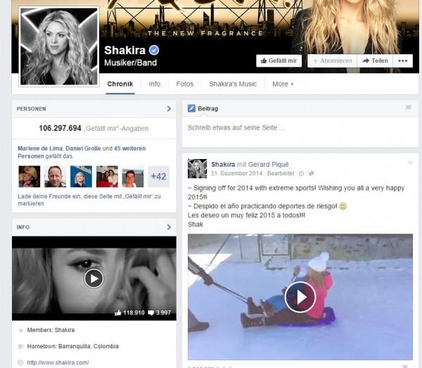 Video im Infobereich in der linken Spalte