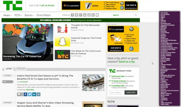 Screenshot techcrunch.com