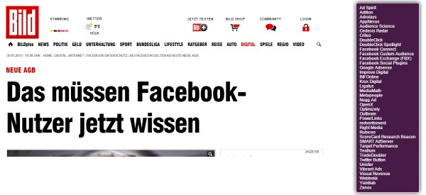 Screenshot bild.de