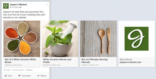 Dynamic Product Ads - Quelle: Facebook Developer Blog