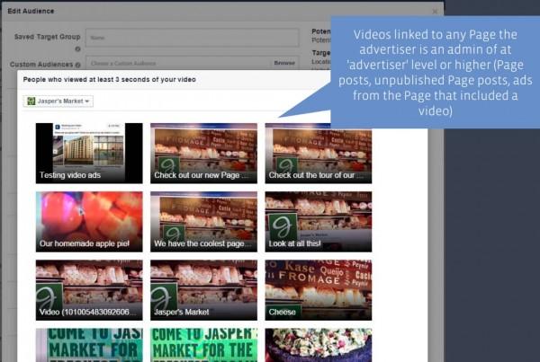 Auswahl von Videos