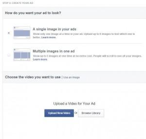Erstellung von Video Link Ads im Werbeanzeigenmanager