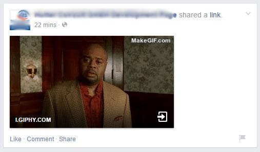 animGIF auf Facebook Seiten