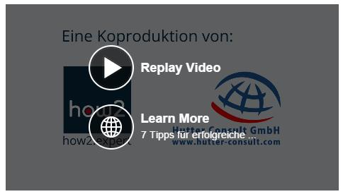 Call to Action im Video (Desktop)