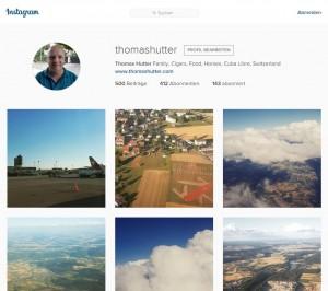 Instagram Profilseite