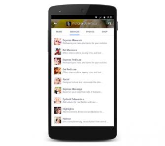 Neuer Service-Bereich auf Facebook Seiten (Quelle: Facebook)