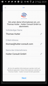 Lead Ads Anzeige 1