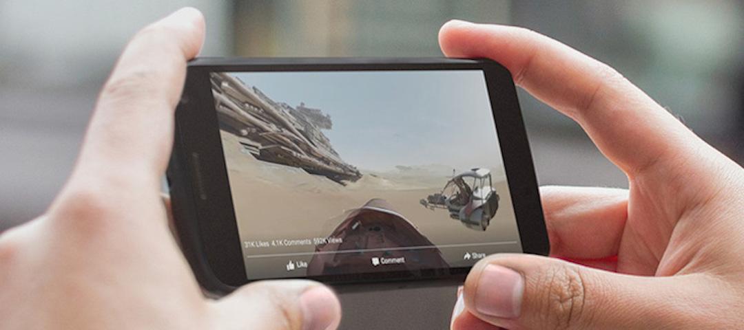 "Video 360 ""full-screen"" (Quelle: Facebook)"
