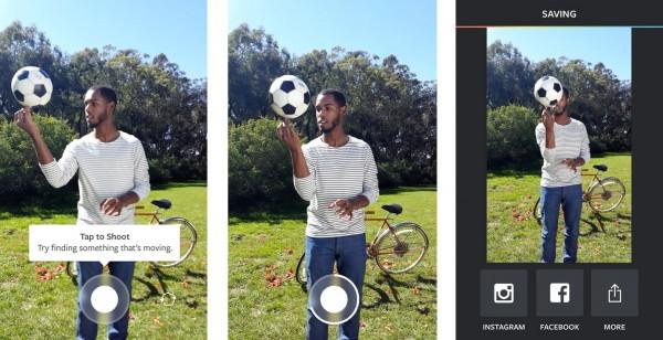 Boomerang von Instagram auf dem Android (Quelle: Instagram)