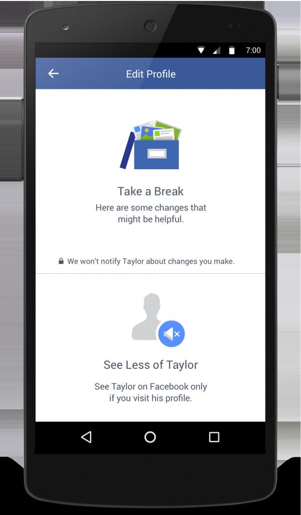 Neues Tool zur Vereinfachung von Trennungen (Quelle: Facebook)