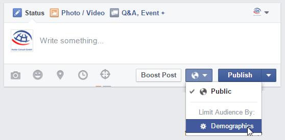 Aktivierung des Post Gatings (Audience Restriction)