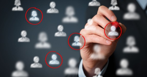 Target audience, marketing segmentation, customers care, labour market, customer relationship management (CRM) and team building concepts. copyright by shutterstock.com
