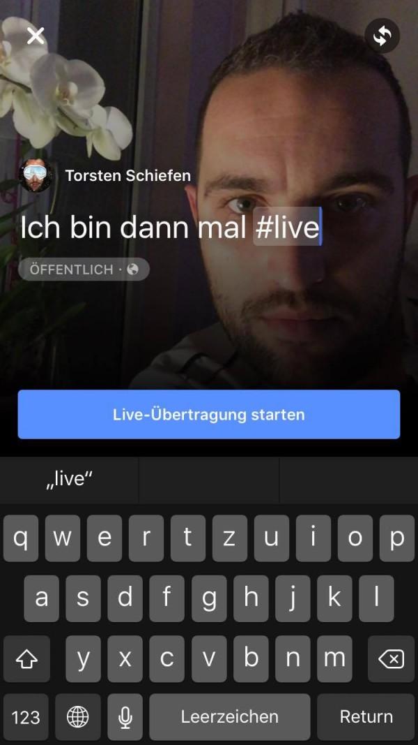 Live Videos für iOS - Schritt 3