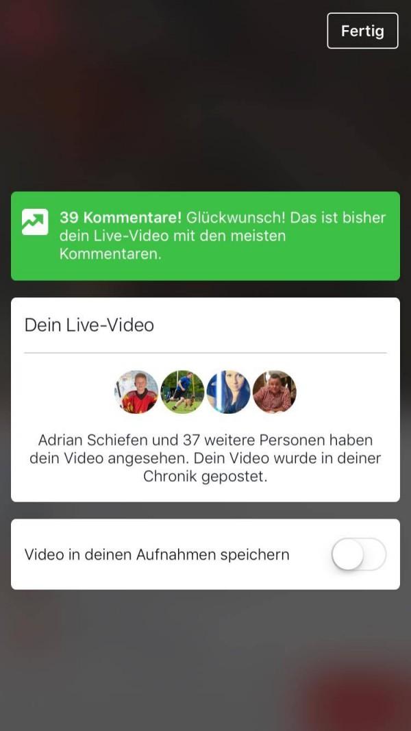 Live Videos für iOS - Schritt 6