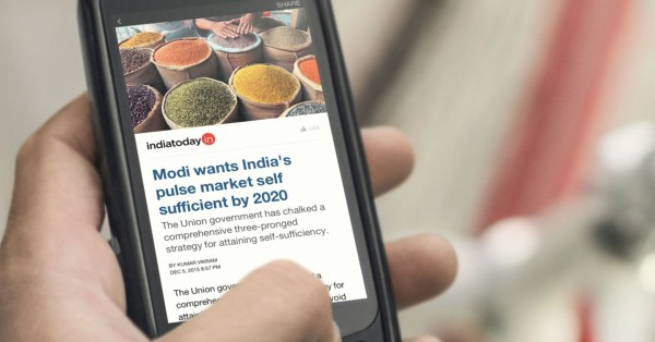 Instant Articles auf Android (Quelle: Facebook)