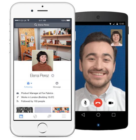 Facebook at Work für iOS und Android (Quelle: Facebook)