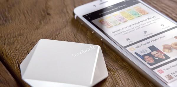 Facebook Bluetooth® beacon